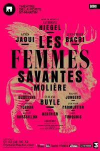 Les Femmes Savantes de Molière à l'Affiche