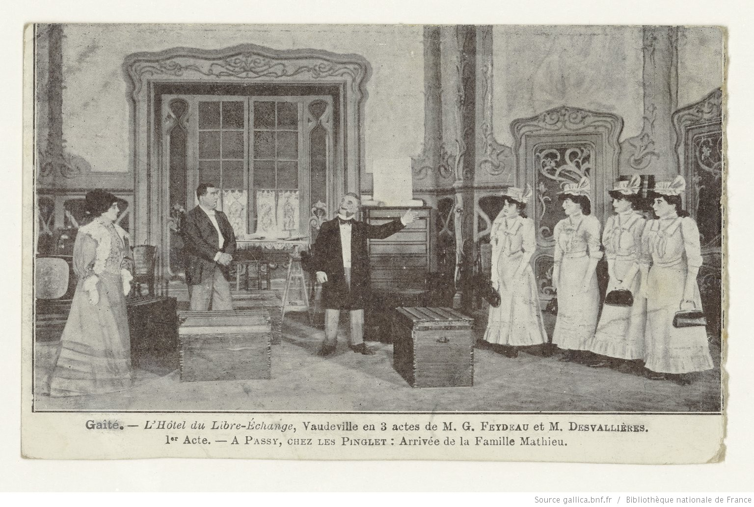 L'Hôtel du Libre-Echange  de Feydeau et Desvallières