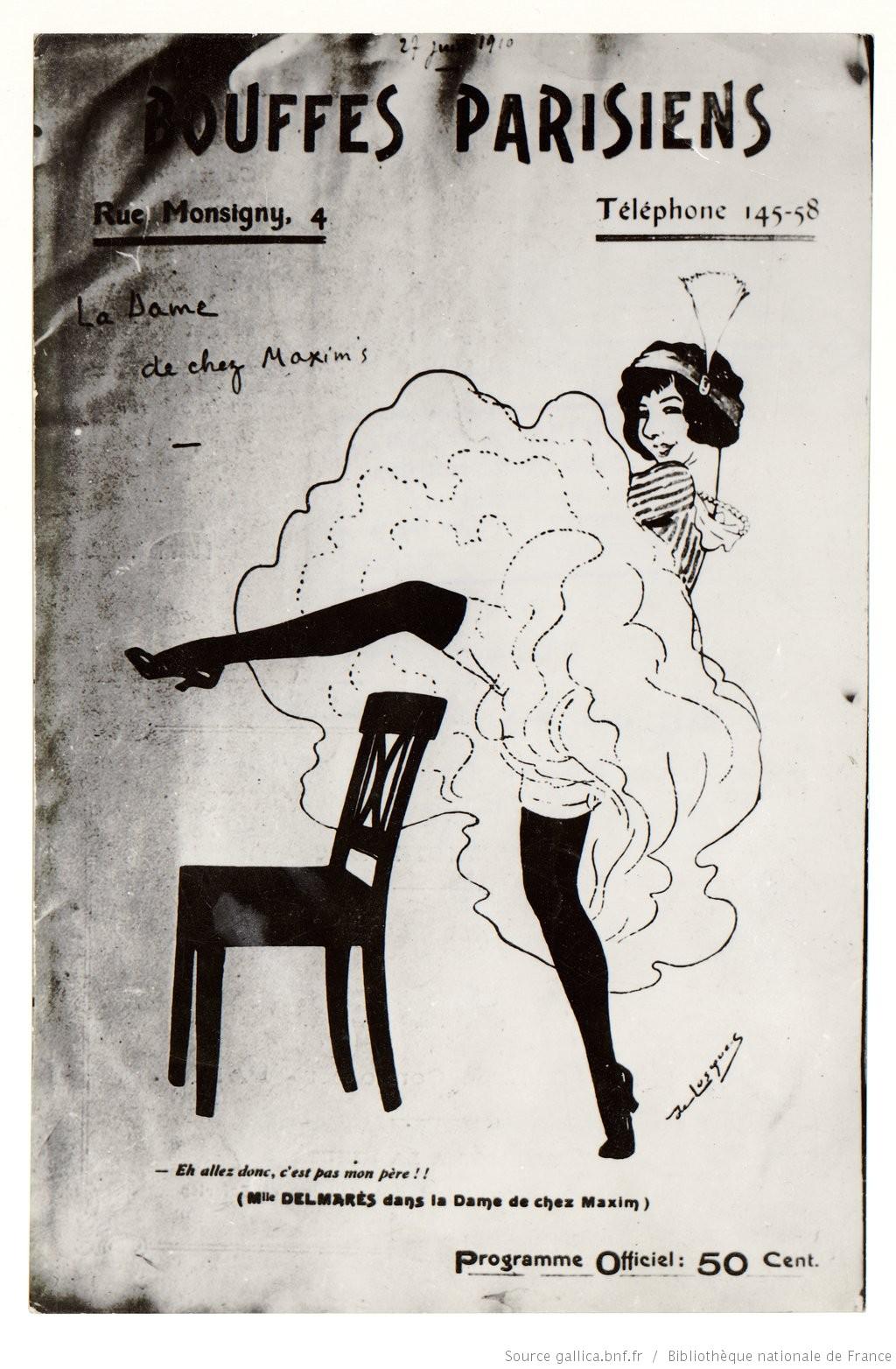 La Dame de chez Maxim de Feydeau