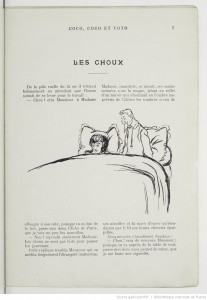 Les Choux de Georges Courteline