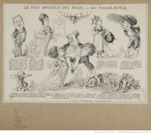 Extrait de la Vie Parisienne du 22 janvier 1870. Source : BNF/ Gallica