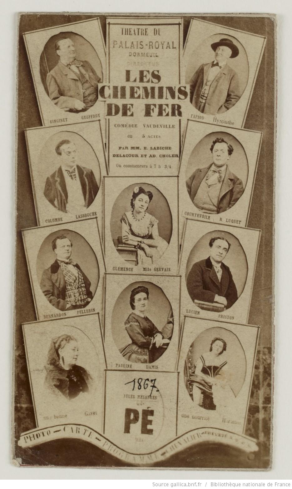 Les chemins de fer d'Eugène Labiche