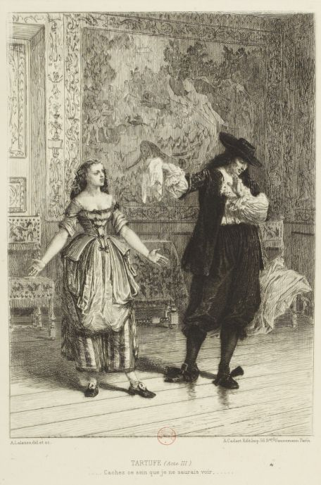 tartuffe reaction Although he does not appear until half-way through act one, tartuffe is discussed extensively by all of the other characters most of the characters realize that tartuffe is a loathsome hypocrite who pretends to be a religious zealot.