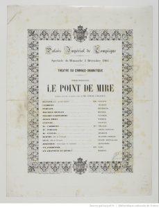 Le Point de Mire d'Eugène Labiche