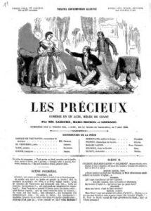 Les Précieux d'Eugène Labiche