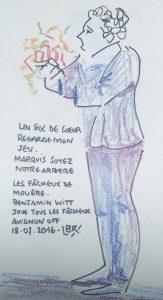 Les Fâcheux de Molière. Mise en scène de Jérémie Milszstein. Avignon OFF 2016