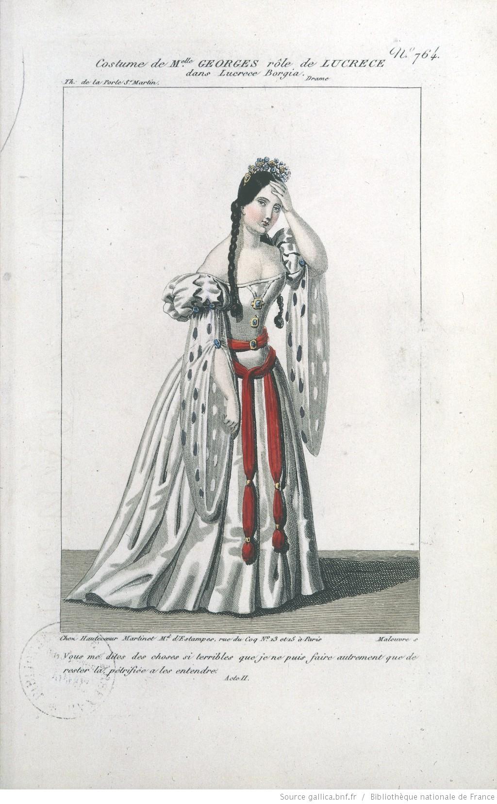 Lucrèce Borgia de Victor Hugo