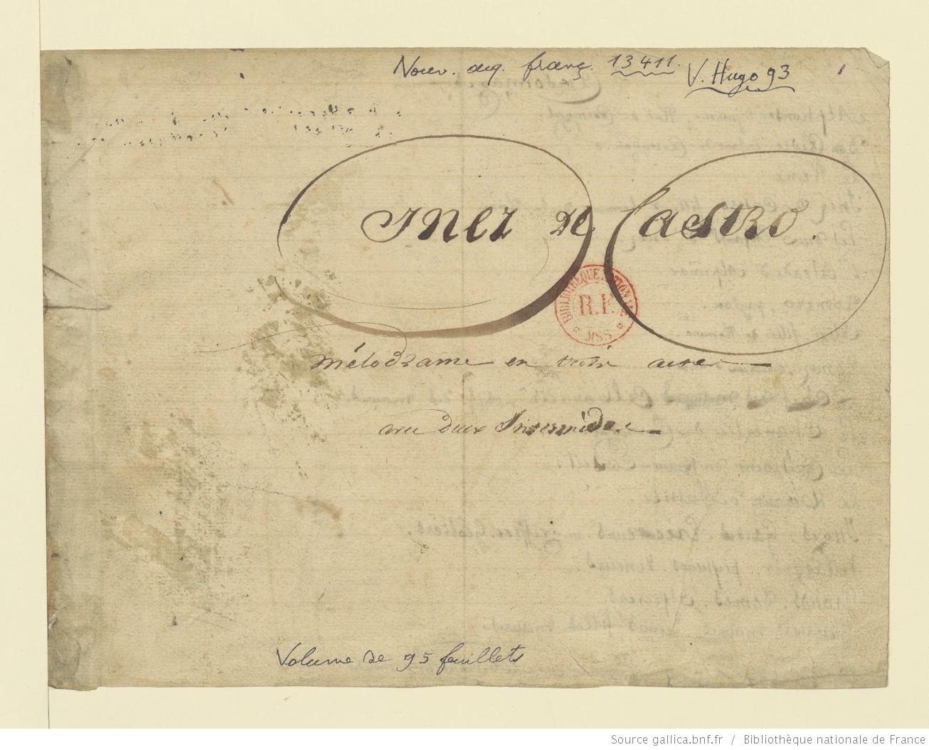 Inez de Castro de Victor Hugo