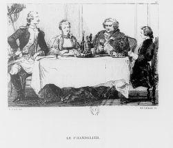 Le Chandelier d'Alfred de Musset