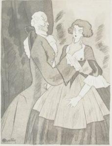 Monologue de Lisette dans Louison d'Alfred de Musset, Acte I, Scène 1