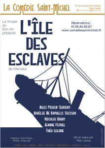 L'île des Esclaves de Marivaux par la troupe du Bon Air