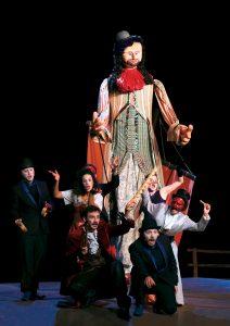 Monsieur de Pourceaugnac mis en scène par Raphaël de Angelis