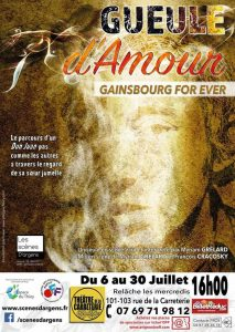 Gueule d'amour, Gainsbourg for ever