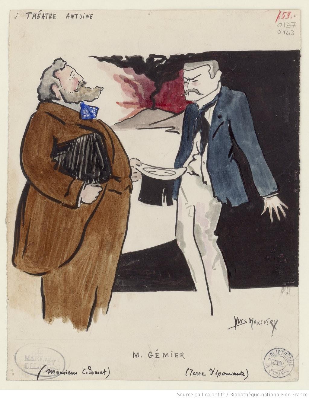 Monsieur Codomat de Tristan Bernard