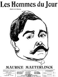 Entrée des œuvres de Maurice Maeterlinck dans le domaine public le 1er janvier 2020