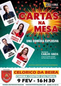 Cartas na Mesa, tournée au Portugal 2019-2020