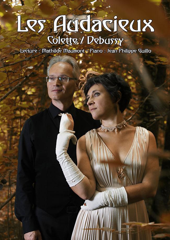 Les Audacieux : Colette/Debussy