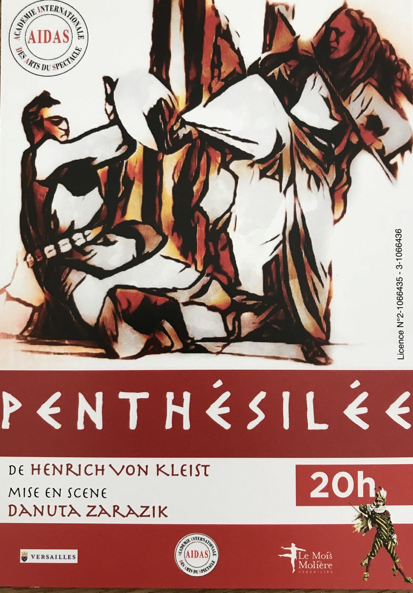 Penthésilée de Henrich von Kleist mise en scène de Danuta Zarazik
