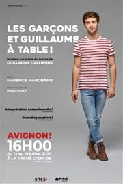Les Garçons et Guillaume à table ! de Guillaume Gallienne avec Maxence Marchand