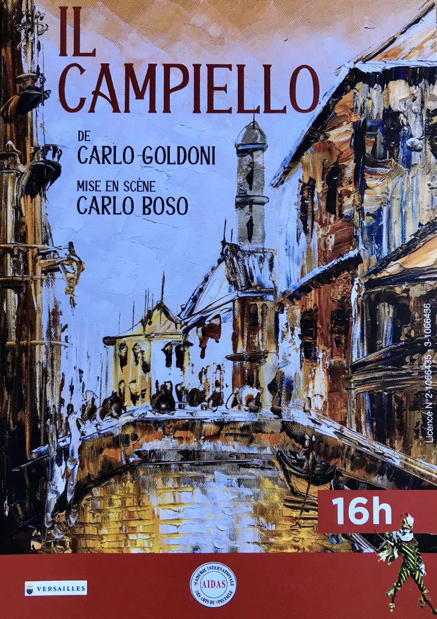 Il Campiello de Carlo Goldoni mise en scène de Carlo Boso