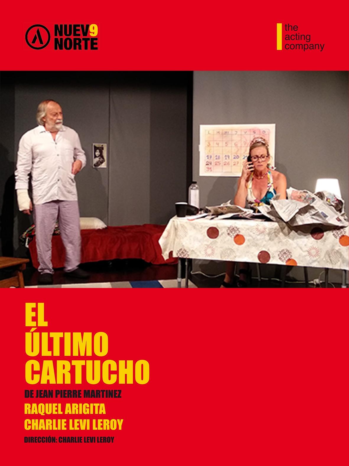 El último cartucho de Jean-Pierre Martinez, mise en scène de Charlie Levi Leroy à Madrid