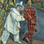 Pierrot et Arlequin (Mardi gras) de Paul Cézanne